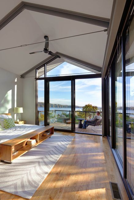 Tall Ceilings and Windows