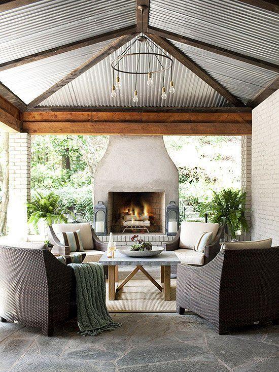 Sleek Modern Country Lounge