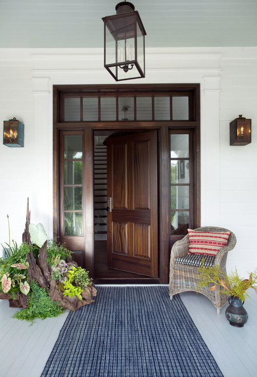 Succulent Garden + Earthy Doorway