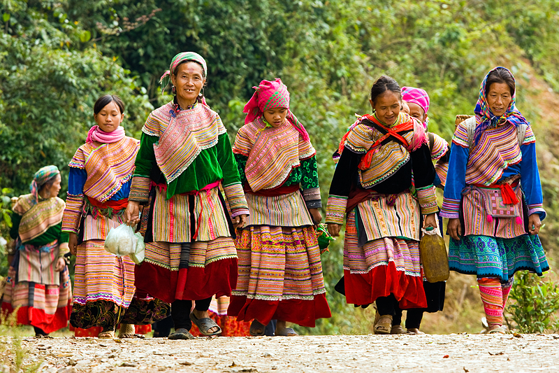 Hmong Hill Tribe Women