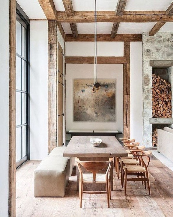 Timber for the Winter, Tall Ceilings and Windows