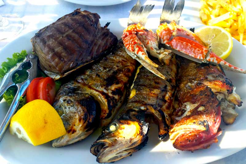 To Psaraki Cafe Catch of the Day