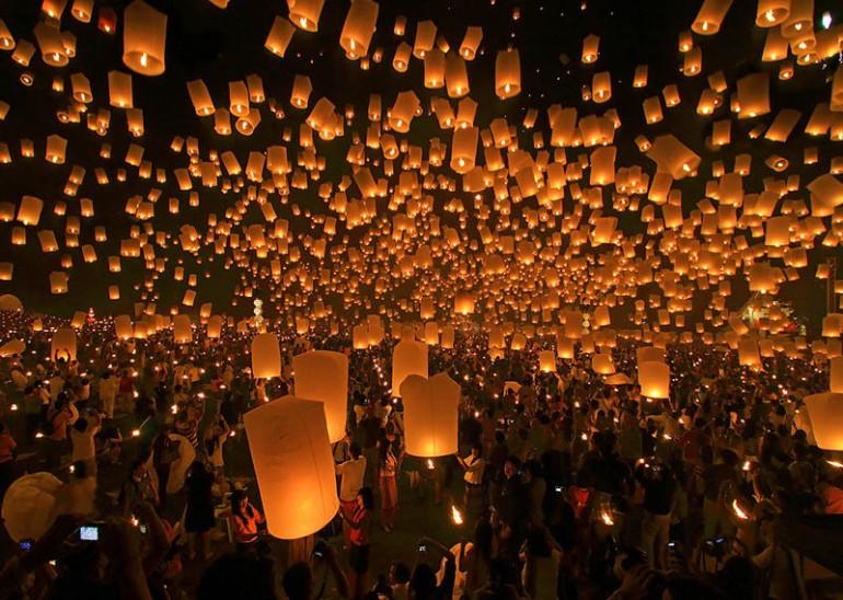 Loi Krathong Festival of Light