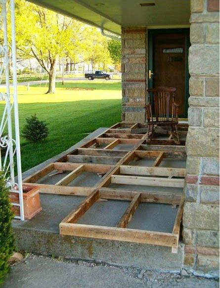 Pallet Deck Foundation