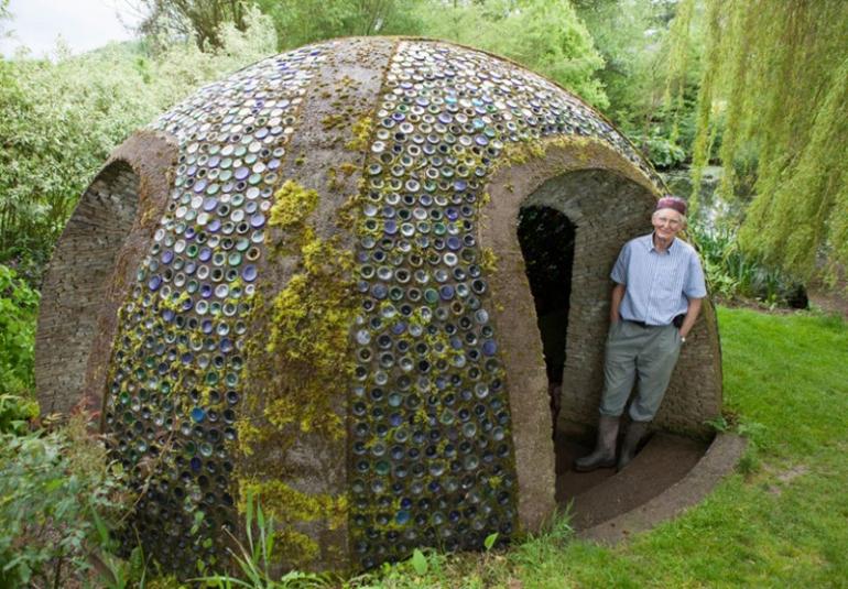 Backyard Shower Dome