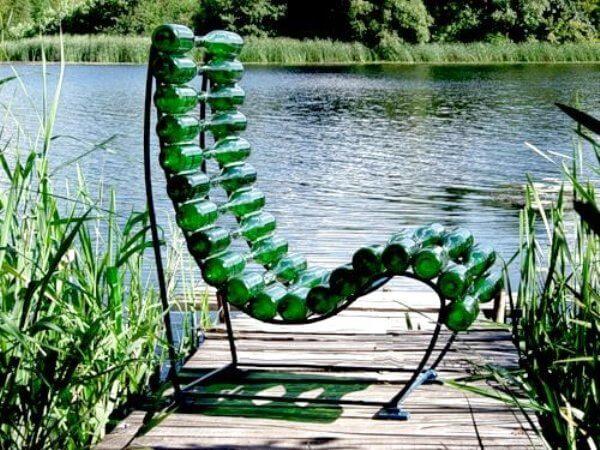 Wine Bottle Chair