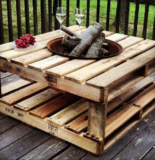 Coffe Table // Firepit