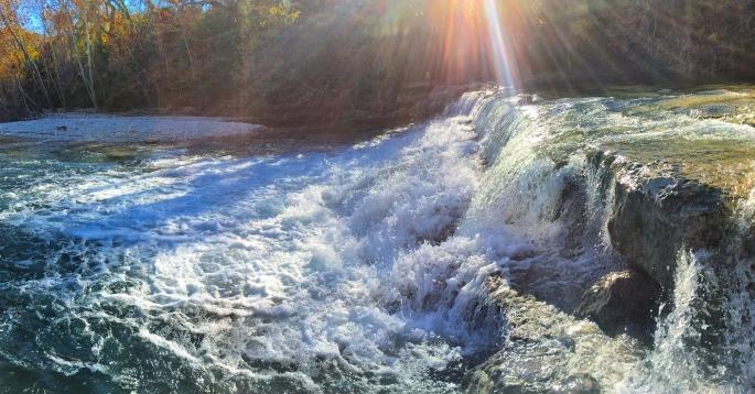 Lost Creek Waterfalls, Barton Creek Greenbelt