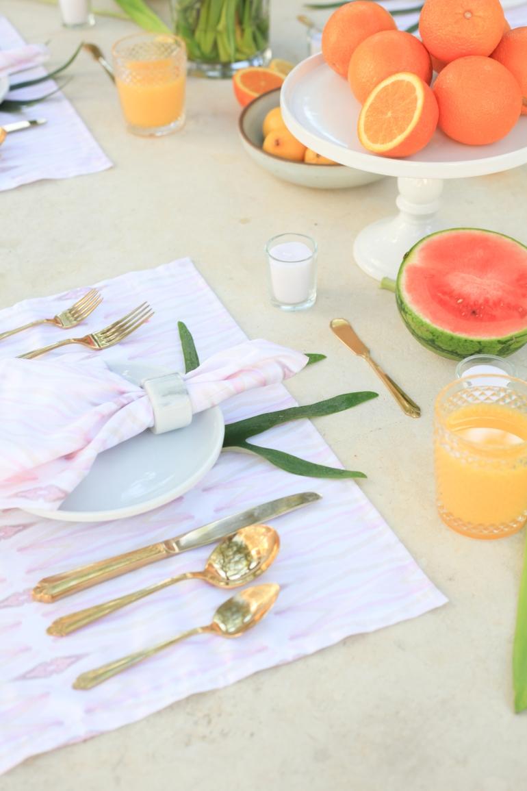 Nakuru Table Setting