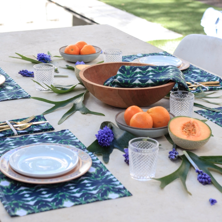 Emerald Table Setting