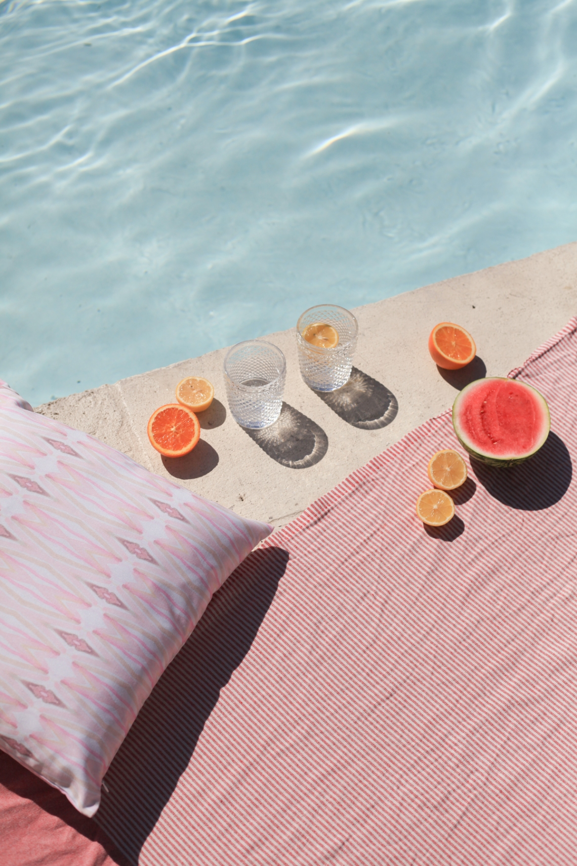 Dreamy Blush Poolside