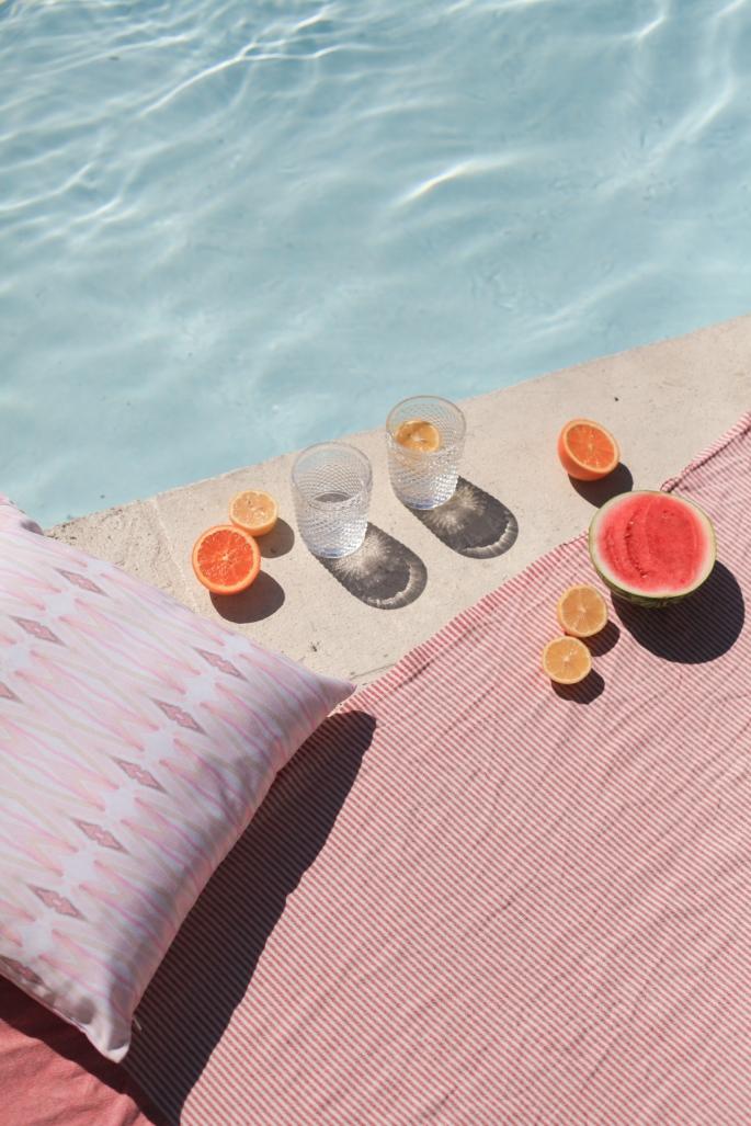 Dreamy Blush Poolside