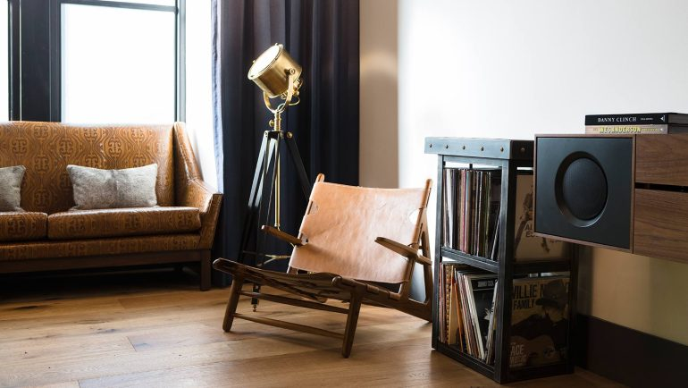 Living Room Music Corner