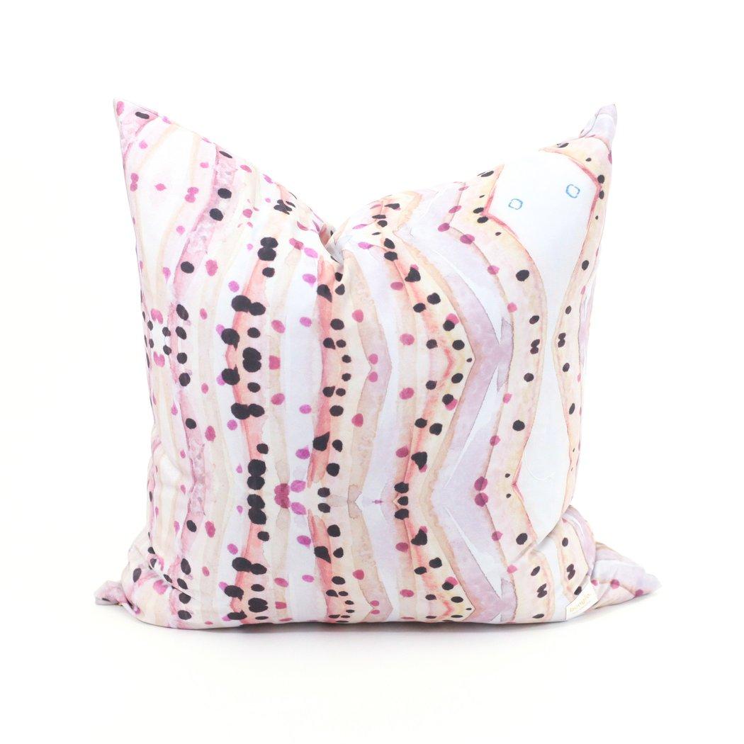 Rose Jade Modern Pillows