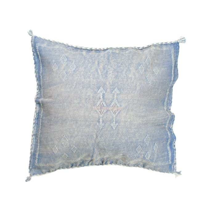 Woven pillows handmade from vintage turkish rugs