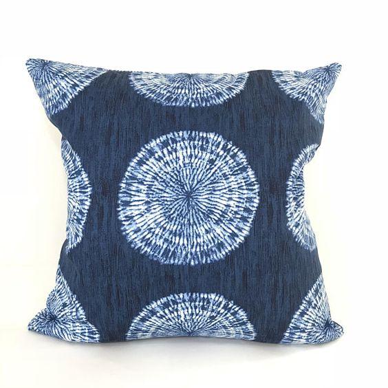 Indigo Ikat Pillow