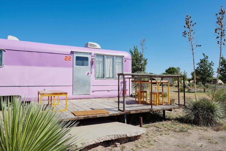 Eclectic Lavender Trailer