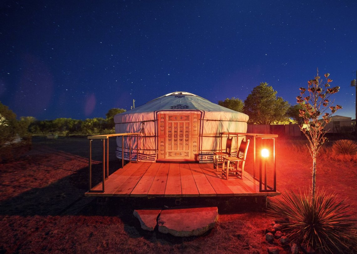 Yurt Patio