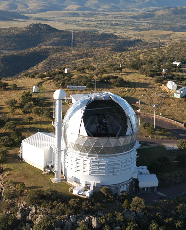 Nearby McDonald Observatory