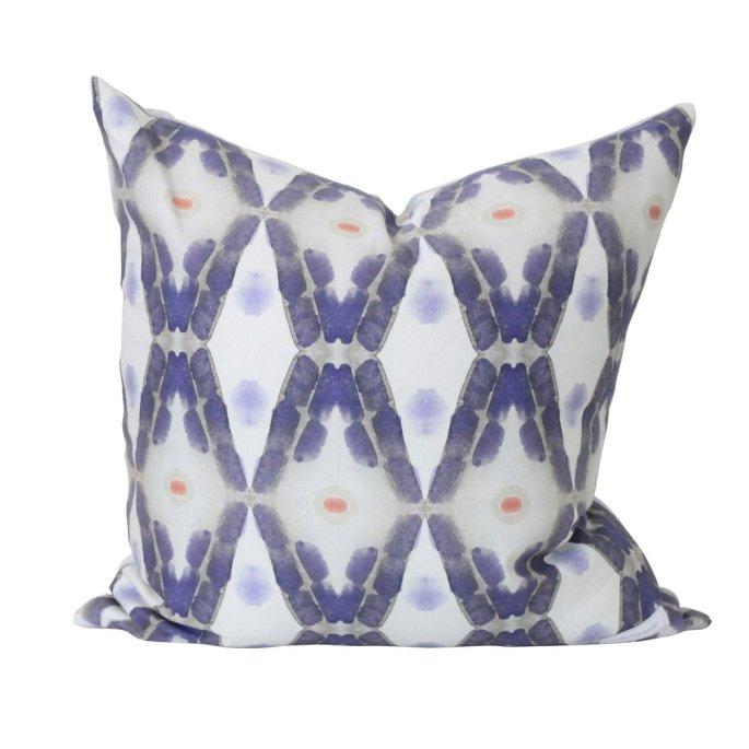 Midnight Pine Modern Pillow