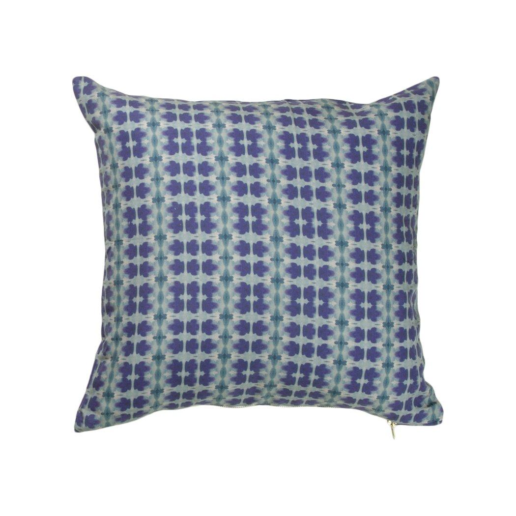 Indigo + Turquoise Glamour Pillow