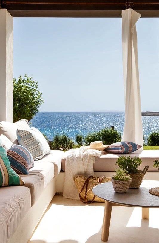 Seaside Patio Dreams