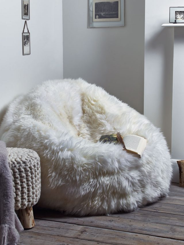 Faux Fur Nest