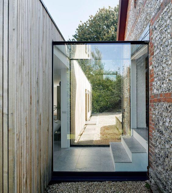 Glass Box Corridor